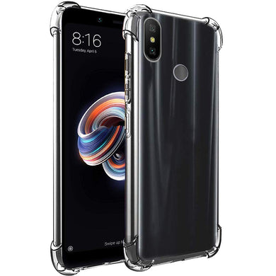 AMZER Ultra Slim TPU ShockProof Bumper Case for Xiaomi Redmi Note 5 Pro - fommystore