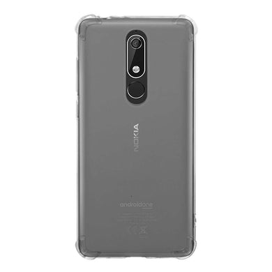 AMZER Ultra Slim TPU ShockProof Bumper Case for Nokia 5.1 Plus/ Nokia X5 - fommystore