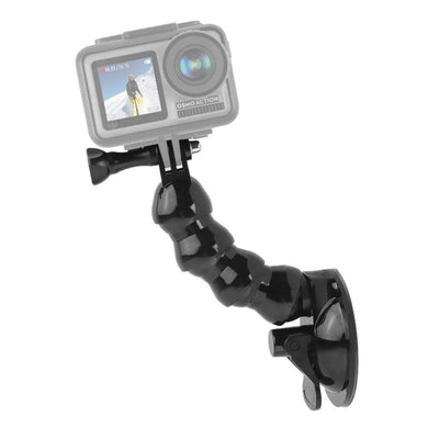 AMZER Suction Cup Jaws Flex Clamp Mount for DJI Osmo Action, GoPro NEW HERO / HERO 7 / 6 / 5 / 4 - fommystore