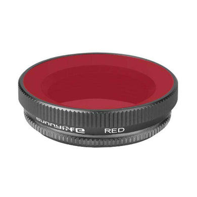 OA-FI179 Lens Diving Filter for DJI OSMO Action Camera Lens - Red - fommystore