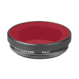 OA-FI179 Lens Diving Filter for DJI OSMO Action Camera Lens - Red