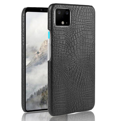 AMZER Shockproof TPU Case With Texture for Google Pixel 4 - Black - fommystore