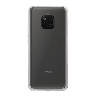AMZER Pudding TPU Soft Skin X Protection Case for Huawei Mate 20 Pro - Crystal Clear - fommystore