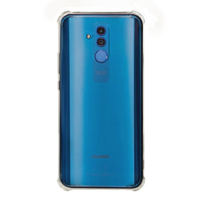 AMZER Pudding TPU Soft Skin X Protection Case for Huawei Mate 20 Lite - Crystal Clear - fommystore