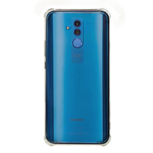 AMZER Pudding TPU Soft Skin X Protection Case for Huawei Mate 20 Lite - Crystal Clear