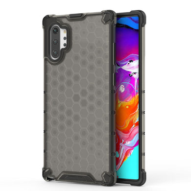 AMZER Honeycomb SlimGrip Hybrid Bumper Case for Samsung Galaxy Note 10+ - fommystore