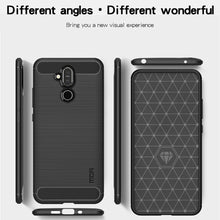 Load image into Gallery viewer, Rugged Carbon Fiber Design ShockProof TPU for Nokia 8.1/ X7 - fommystore