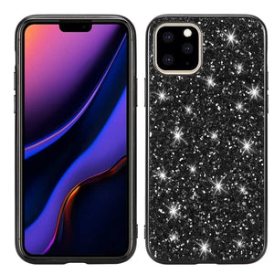 AMZER Shockproof Glitter Powder TPU Protective Case for iPhone 11