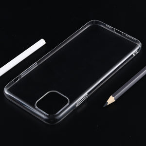 AMZER Slim Transparent Hard Case for iPhone 11