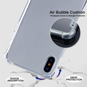AMZER Pudding TPU Soft Skin X Protection Case With Lanyard for iPhone 11 Pro - Clear - fommystore