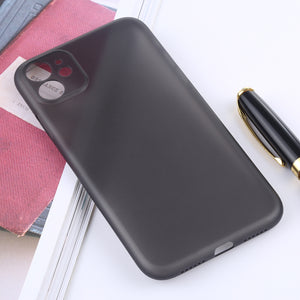 AMZER Ultra Thin 1MM Frosted PP With Exact Cutouts Case for iPhone 11