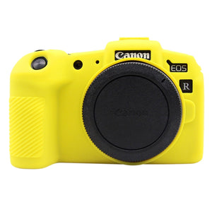 AMZER Soft Silicone Protective Case for Canon EOS RP - Yellow