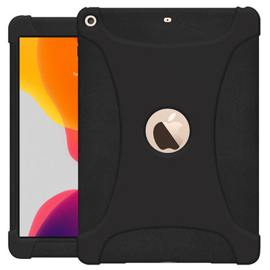 AMZER Shockproof Rugged Silicone Skin Jelly Case for Apple iPad 10.2/iPad 8th Generation 10.2 inch