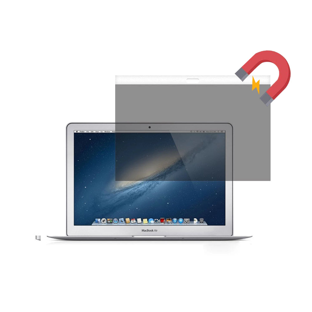 Easy On/Off Magnetic Privacy Screen Filter  for MacBook Air 11.6 inch 2010-2015 (A1370/ A1465) - fommystore