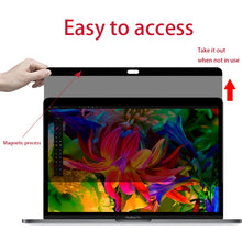 Load image into Gallery viewer, Easy On/Off Magnetic Privacy Screen Filter for MacBook Pro 13.3 inch 2008-2012  (A1278) - fommystore