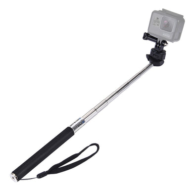 Extendable Handheld Selfie Monopod for GoPro NEW HERO /HERO7 /6 /5 /5 Session /4 Session /4 /3+ /3 /2 /1, DJI Osmo Action, Xiaoyi and Other Action Camera - fommystore
