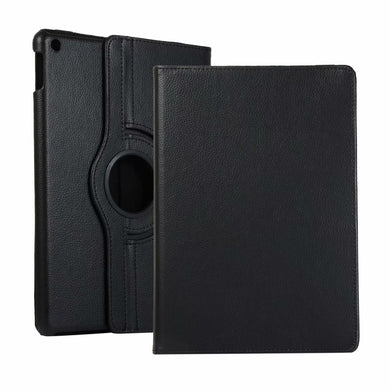 AMZER 360° Rotate Flip Case With Holder for Apple iPad 10.2/iPad 8th Generation 10.2 inch - Black