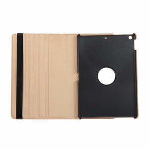 AMZER 360° Rotate Flip Case With Holder for Apple iPad 10.2 - Black - fommystore
