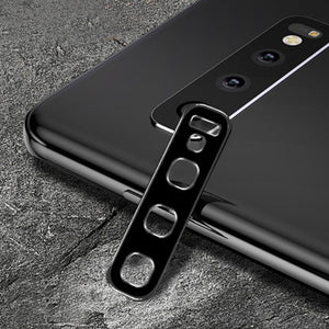 Premium Titanium Alloy Metal Camera Lens Protector Film Tempered Glass for Samsung Galaxy S10/ S10 Plus