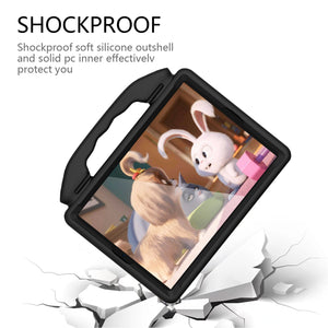 Shockproof Hybrid Protective Shell Case with Handle  - Black for Apple iPad Pro 10.5