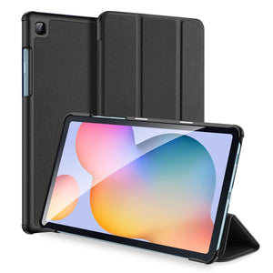 Samsung Galaxy Tab S6 Lite 10.4 Texture Horizontal Flip PU Leather Case With 3-Fold Holder & Pen Slot