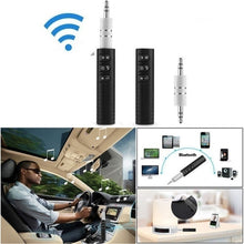 Load image into Gallery viewer, 3.5mm Wireless Bluetooth Receiver Stereo Audio Music Bluetooth Receiver Adapter for Speaker Car Aux Hands Free Kit