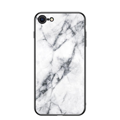 AMZER Tempered Glass Designer Case for iPhone 7/8, iPhone SE 2020