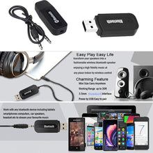 Load image into Gallery viewer, AMZER 2 in 1 USB & 3.5mm Bluetooth Receiver