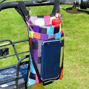 AMZER Electric Motorcycle Storage Bag Small Bicycle Front Handle Storage Bag