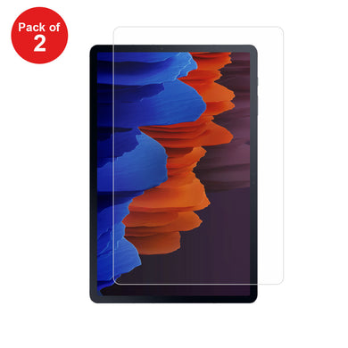 AMZER 2 PCS 9H HD Explosion-proof Tempered Glass Film Screen Protector For Samsung Galaxy Tab S7 Plus T975