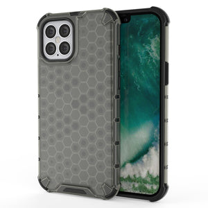 AMZER Honeycomb SlimGrip Hybrid Bumper Case for iPhone 12 Pro Max
