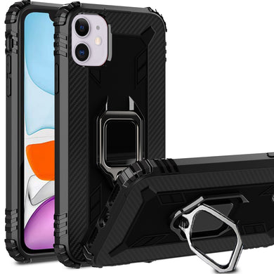 AMZER Sainik Case With 360° Magnetic Ring Holder for iPhone 12