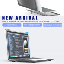 Load image into Gallery viewer, AMZER Hybrid Two Colors Laptop Protective Case for MacBook Pro 13 inch A2289 / A2251 (2020)
