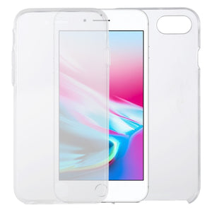 Ultra-thin Double-sided Full Coverage Transparent TPU Case for iPhone 7/8, iPhone SE 2020