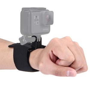 AMZER Adjustable Wrist Strap Mount for GoProHERO9 Black / HERO8 Black / HERO7 /6 /5 /5 Session /4 Session /4 /3+ /3 /2 /1, Xiaoyi and Other Action Cameras