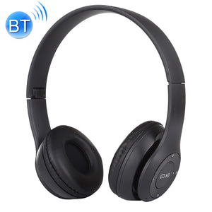 Premium Stereo Bluetooth Headphone with Call Support, Mic,  3.5mm Audio Jack, FM