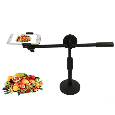 AMZER Live Broadcast Adjustable 360 Degrees Rotation Photography Mobile Phone High Angle Shot Overhead Bracket