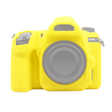 AMZER Soft Silicone Protective Case for Nikon D780 - Yellow