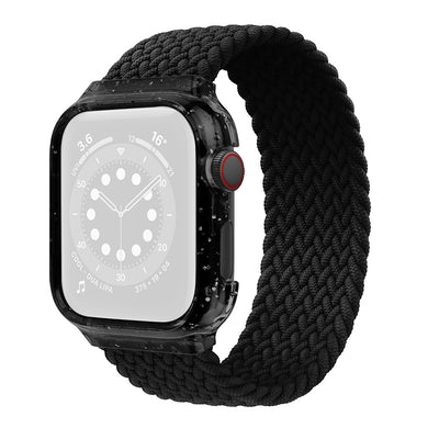AMZER Weave Replacement Wrist Strap Watchbands with Frame For Apple Watch Series 6/5/4/SE 44mm