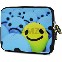 Load image into Gallery viewer, AMZER 7.75 Inch Neoprene Zipper Sleeve Pouch Tablet Bag - Smile Always - fommystore