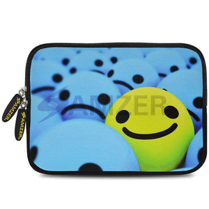 AMZER 7.75 Inch Neoprene Zipper Sleeve Pouch Tablet Bag - Smile Always - fommystore