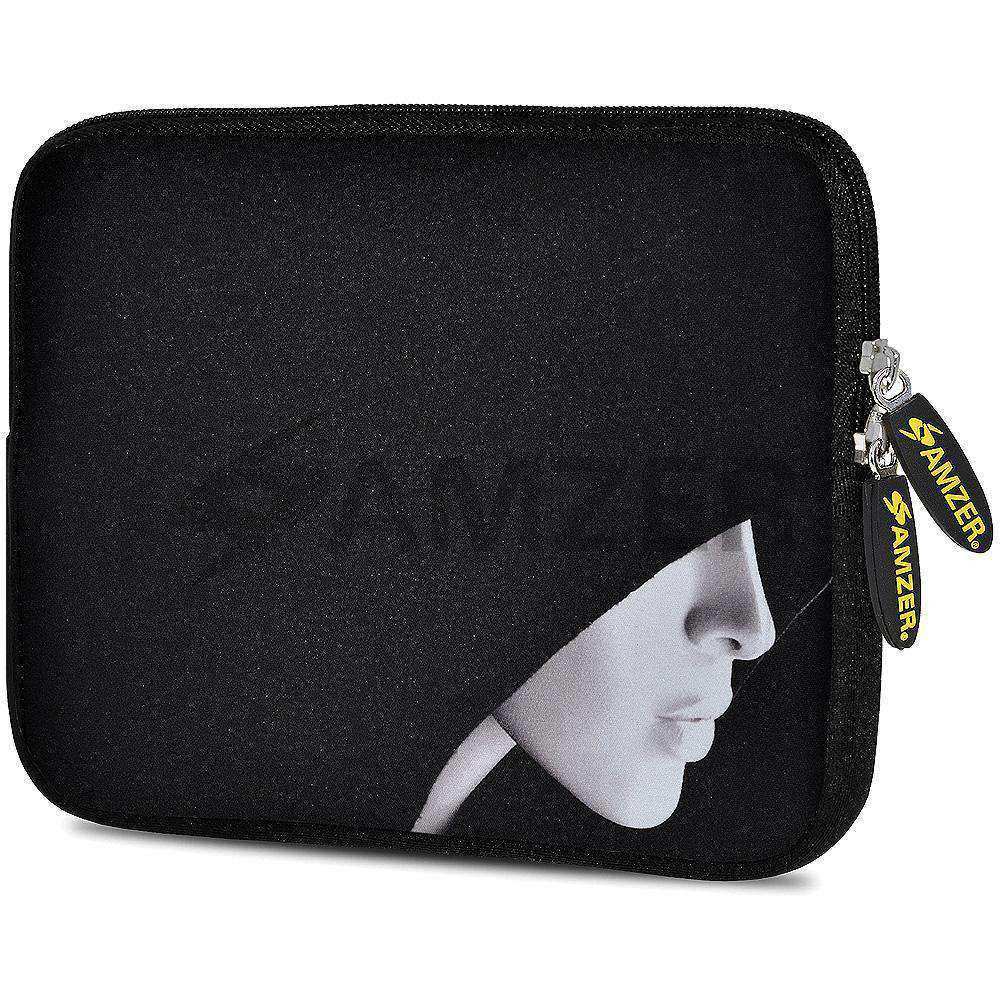 AMZER 7.75 Inch Neoprene Zipper Sleeve Pouch Tablet Bag - The Dark Lord - fommystore