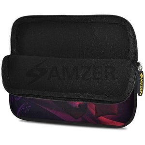 AMZER 7.75 Inch Neoprene Zipper Sleeve Pouch Tablet Bag - Rose - fommystore