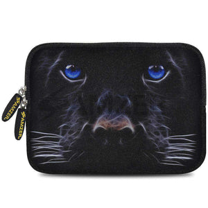 AMZER 7.75 Inch Neoprene Zipper Sleeve Pouch Tablet Bag - Blue Eyes - fommystore