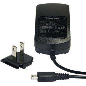 RIM (OEM) BlackBerry Mini USB Travel Wall Charger - Black - fommystore