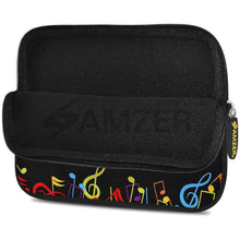 Load image into Gallery viewer, AMZER 7.75 Inch Neoprene Zipper Sleeve Pouch Tablet Bag - The Composer - fommystore