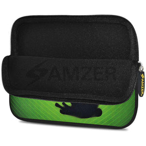 AMZER 7.75 Inch Neoprene Zipper Sleeve Pouch Tablet Bag - Green Frog - fommystore