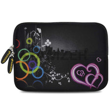 Load image into Gallery viewer, AMZER 7.75 Inch Neoprene Zipper Sleeve Pouch Tablet Bag - Love Wonders - fommystore