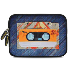 Load image into Gallery viewer, AMZER 7.75 Inch Neoprene Zipper Sleeve Pouch Tablet Bag - Audio Cassette - fommystore