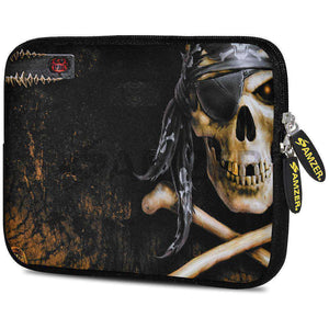 AMZER 7.75 Inch Neoprene Zipper Sleeve Pouch Tablet Bag - Pirate - fommystore